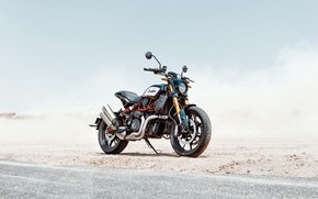 Картинка road, desert, indian, motocycle, indian ftr1200