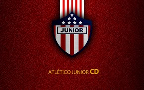 Картинка wallpaper, sport, logo, football, Atletico Junior