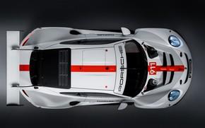 Картинка купе, 911, Porsche, вид сверху, RSR, 2019