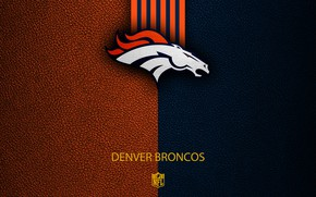 Картинка wallpaper, sport, logo, NFL, Denver Broncos