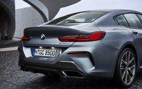 Картинка купе, зад, BMW, Gran Coupe, корма, 8-Series, 2019, четырёхдверное купе, 8er, G16