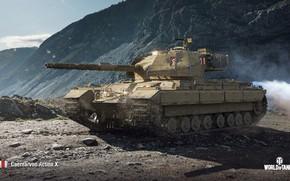 Картинка WoT, World of Tanks, Wargaming, Caernarvon Action X