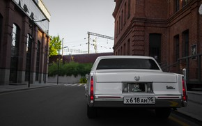 Картинка old, america, retro car, american car, de ville, cadilac, deville
