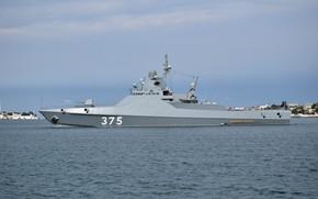 Картинка корабль, патрульный, Черное море, Дмитрий Рогачев