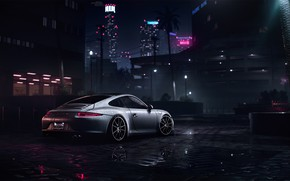 Картинка Авто, 911, Porsche, Машина, Porsche 911, Рендеринг, Need For Speed, Porsche 911 Carrera S, Carrera ...