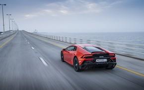 Картинка скорость, Lamborghini, Evo, Huracan, 2019, Lamborghini Huracan Evo