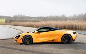 Картинка McLaren, суперкар, вид сбоку, 2018, MSO, 720S, Spa 68, Spa 68 Collection