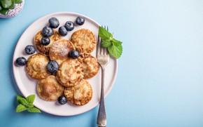 Картинка ягоды, завтрак, оладьи, Iryna Melnyk