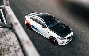 Картинка BMW, вид сверху, 2018, Competition, F87, BMW M2, M Performance Accessories