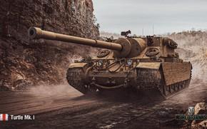 Картинка WoT, World of Tanks, Wargaming, Turtle Mk.I