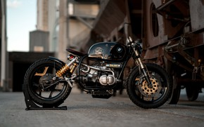 Картинка Bmw, R100RT, Black Stallion