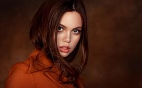 Картинка портрет, взгляд, Сергей Томашев, девушка