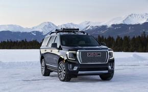 Картинка горы, GMC, SUV, Denali, Yukon, 2020