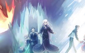 Картинка персонажи, сцены, С нуля, Re Zero Kara Hajimeru Isekai Seikatsu, Жизнь В Альтернативном Мире С …