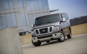 Картинка стоянка, фургон, Nissan, 2014, NV3500 HD SL