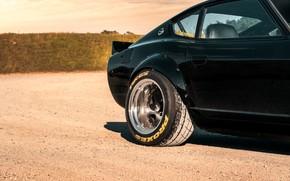 Картинка дорога, дизайн, стиль, Nissan, Автомобиль, Datsun, 240z 6