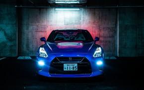 Картинка Nissan, GT-R, вид спереди, R35, 50th Anniversary, JP-Spec, 2019, Japan version