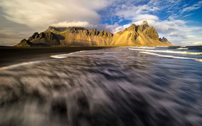 Картинка природа, скалы, Исландия