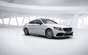 Картинка Mercedes, AMG, C63 AMG, iris