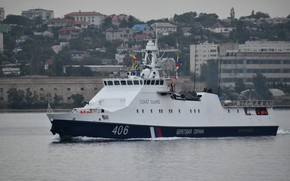 Картинка корабль, Севастополь, сторожевой, пограничный, автор Erne, Проворный