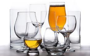 Картинка фон, пиво, бокалы