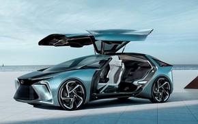 Картинка car, concept, electric, lexus if30