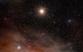 Картинка Nebula, Digitized Sky Survey 2, Constellation of Scorpius, Clouds of hydrogen, Messier 4, NGC 6144, …