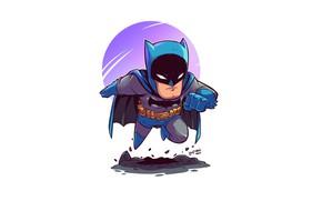 Картинка Batman, pose, Derek Laufman