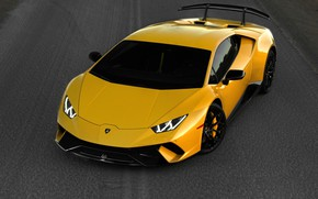Картинка Lamborghini, суперкар, Performante, Huracan