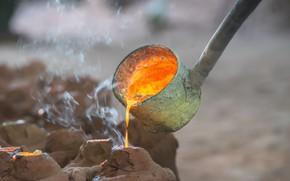 Картинка metal, liquid, foundry