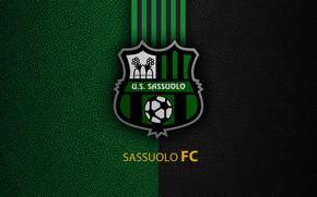 Картинка wallpaper, sport, logo, football, Sassuolo, Italian Seria A