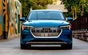 Картинка Audi, E-Tron, 2019, электрокроссовер, 55 Quattro