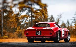 Картинка Авто, Ретро, Машина, Феррари, Ferrari, GTO, 250, Ferrari 250 GTO, Gran Turismo, Ferrari 250, Спортка, …