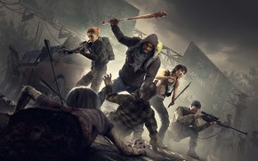 Картинка Overkill Software, 505 Games, Overkill's The Walking Dead
