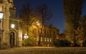 Картинка ночь, город, улица, вид, Питер, Санкт-Петербург, Россия, архитектура, мегаполис, Ленинград, Алексеевский дворец