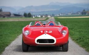 Картинка Maserati, 1959, W.R.E.-Maserati, Ретро автомобили