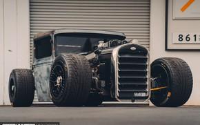 Картинка Ford, Hot Rod, Custom, Model A