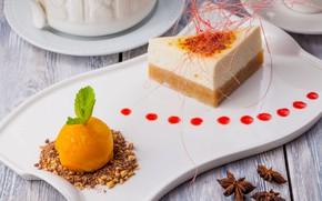 Картинка мороженое, торт, декор