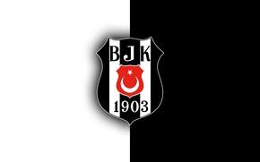 Картинка wallpaper, sport, logo, football, Besiktas JK