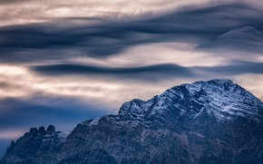 Картинка небо, природа, гора