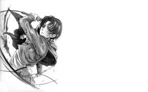 Картинка рисунок, аниме, арт, Атака Титанов, Shingeki No Kyojin, Леви Аккерман, Леви, капрал, by redwarrior3