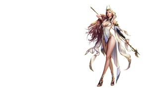 Картинка игра, фэнтези, арт, персонаж, Elementalist, дизайн костюма, jungmin jin /dospi