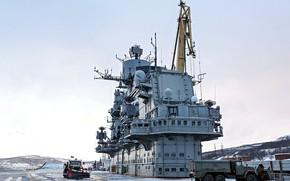 Картинка палуба, крейсер, авианесущий, верхняя, адмирал кузецов