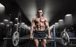 Картинка fitness, bodybuilder, power, gym, men