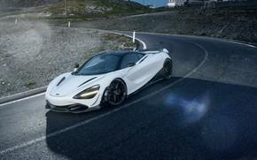 Картинка McLaren, суперкар, вид сбоку, 2018, Novitec, 720S
