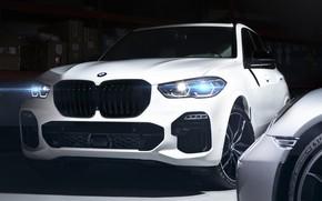 Картинка BMW, Light, White, Sight, Adaptive LED, G05