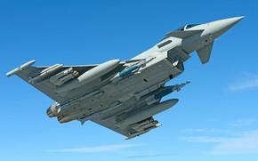 Картинка RAF, Eurofighter Typhoon, JDAM, ПГО, Многоцелевой Истребитель, ПТБ, MBDA Meteor, AIM-132 ASRAAM, ПТРК Brimstone