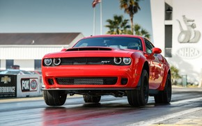Картинка Muscle, Race, Dodge Challenger, SRT, Demon