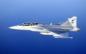 Картинка Gripen, JAS 39, SAAB, Gripen JAS 39, ВВС ЮАР