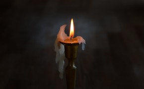 Картинка фон, огонь, свеча